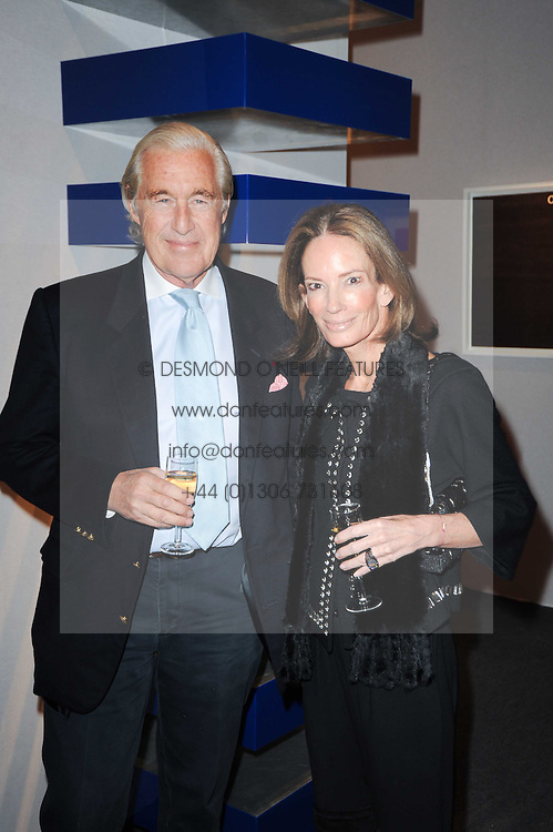 Private View of the Pavilion of Art & Design London 2010 held in Berkeley Square, London on 11th October 2010.<br /> Picture Shows:- MARTIN & ANNE SUMMERS