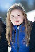 Fotosessie met de koninklijke familie in Lech /// Photoshoot with the Dutch royal family in Lech .<br /> <br /> Op de foto/ On the photo: Prinses Ariane ///// Princess Ariane