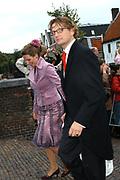 Zijne Hoogheid Prins Floris van Oranje Nassau, van Vollenhoven en mevrouw mr. A.L.A.M. Söhngen zijn zaterdag 22 oktober in de kerk van Naarden in het  huwelijk getreden. De prins is de jongste zoon van Prinses Magriet en Pieter van Vollenhoven.<br /> <br /> Church Wedding Prince Floris and Aimée Söhngen. <br /> <br /> Church Wedding Prince Floris and Aimée Söhngen in Naarden. The Prince is the youngest son of Princess Margriet, Queen Beatrix's sister, and Pieter van Vollenhoven. <br /> <br /> Op de foto / On the photo;<br /> <br /> <br /> <br /> Zijne Hoogheid Prins Bernhard van Oranje-Nassau, van Vollenhoven en Hare Hoogheid Prinses Annette van Oranje-Nassau, van Vollenhoven<br /> <br /> His highness prince Bernhard van Oranje-Nassau, of Vollenhoven and her highness princess Annette van Oranje-Nassau, of Vollenhoven