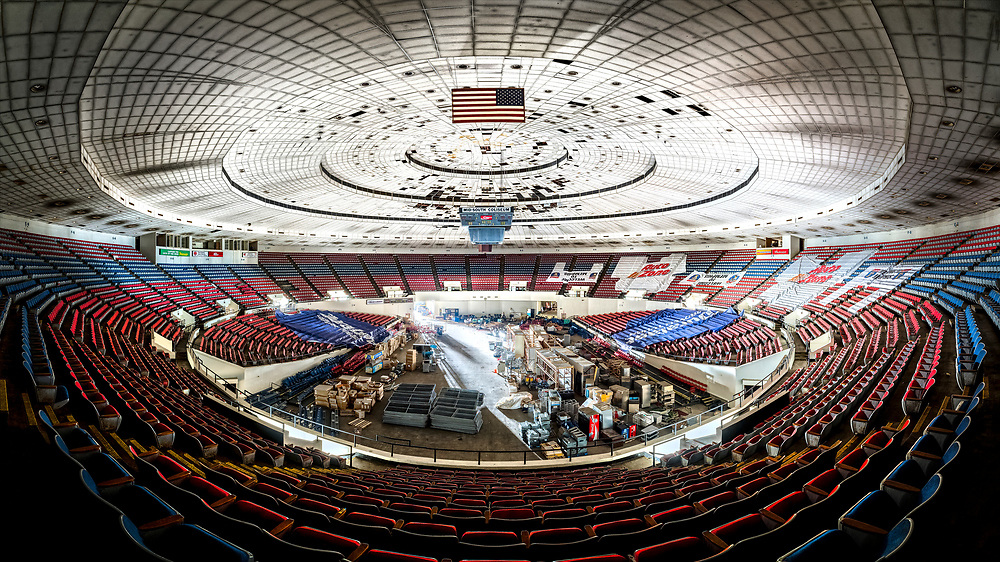The historic Mid-South Coliseum in Memphis, TN.