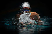 Brisbane, AUSTRALIA, December 11: Swimmer competes in the 200m Breaststoke event during the 2011 State Championships in Brisabne on December 13th 2011. (Photo by Matt Roberts/Sporting Images)