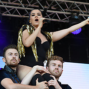 Saara Aalto perform live at Kew The Music Festival 2018 on 10th July 2018.