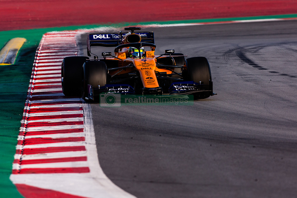 February 26, 2019 - Barcelona, Barcelona, Spain - Lance Stroll from Canada with 18 SportPesa Racing Point F1 Team in action during the Formula 1 2019 Pre-Season Tests at Circuit de Barcelona - Catalunya in Montmelo, Spain on February 26. (Credit Image: © AFP7 via ZUMA Wire)