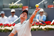 Kyle Edmund of Great Britain in action during the Mutua Madrid Open 2018, tennis match on May 9, 2018 played at Caja Magica in Madrid, Spain - Photo Oscar J Barroso / SpainProSportsImages / DPPI / ProSportsImages / DPPI