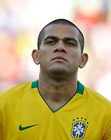 Fotball<br /> Egypt v Brasil<br /> Foto: DPPI/Digitalsport<br /> NORWAY ONLY<br /> <br /> FOOTBALL - CONFEDERATIONS NATIONS CUP 2009 - GROUP B - 1ST ROUND - BRAZIL v EGYPT - 15/06/2009<br /> <br /> DANIEL ALVES (BRA)