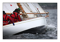 Day one of the Fife Regatta, Round Cumbraes Race.<br /> <br /> The Truant, Ross Ryan, GBR, Gaff Cutter 8mR, Wm Fife 3rd, 1910<br /> <br /> * The William Fife designed Yachts return to the birthplace of these historic yachts, the Scotland's pre-eminent yacht designer and builder for the 4th Fife Regatta on the Clyde 28th June–5th July 2013<br /> <br /> More information is available on the website: www.fiferegatta.com