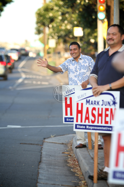 Hawaii State Representative Mark Hashem (D) 18th District.