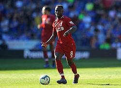 Naby Keita of Liverpool in action- Mandatory by-line: Nizaam Jones/JMP - 21/04/2019 -  FOOTBALL - Cardiff City Stadium - Cardiff, Wales -  Cardiff City v Liverpool - Premier League