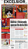 September 16, 2021 - LATIN AMERICA: Front-page: Today's Newspapers In Latin America