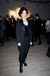 BIANCA JAGGER at a private view of Masters of Photography - A Journey presented by Macallan and Albert Watson held at Philips De Pury, Howick Place, London SW1 on 1st December 2010.
