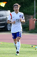 Fifa Womans World Cup Canada 2015 - Preview //<br /> Cyprus Cup 2015 Tournament ( Gsz Stadium Larnaca  - Cyprus ) - <br /> Canada vs South Korea 1-0  //  YEO Minji of South Korea