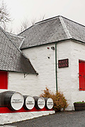 The small Aberlour Distillery on the 7th November 2018 in Aberlour, Scotland in the United Kingdom.