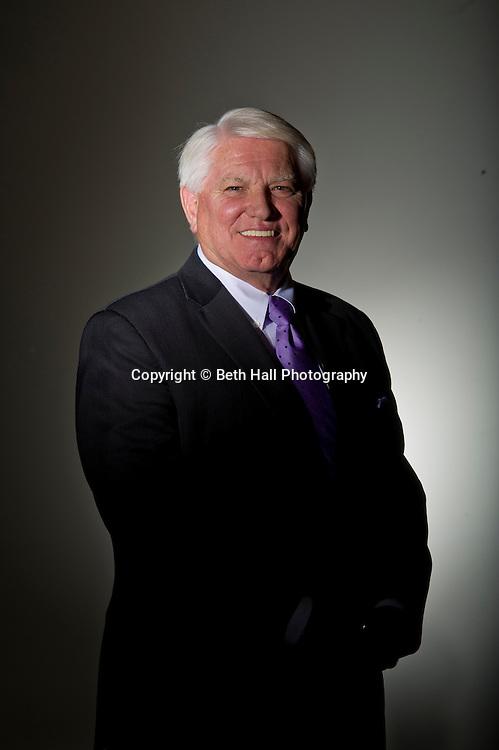 Steve Clark at the Chamber of Commerce in Fayetteville, Arkansas.