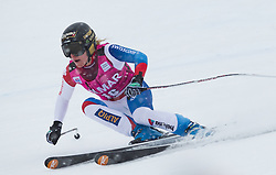 20.01.2013, Olympia delle Tofane, Cortina d Ampezzo, ITA, FIS Weltcup Ski Alpin, Super G, Damen, im Bild Lara Gut (SUI) // Lara Gut of Switzerland in action during the ladies Super G of the FIS Ski Alpine World Cup at the Olympia delle Tofane course, Cortina d Ampezzo, Italy on 2013/01/20. EXPA Pictures © 2013, PhotoCredit: EXPA/ Johann Groder
