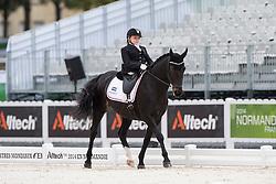 Stinna Tange Kaastrup, (DEN), Steffi Graf - Individual Test Grade Ib Para Dressage - Alltech FEI World Equestrian Games™ 2014 - Normandy, France.<br /> © Hippo Foto Team - Jon Stroud <br /> 25/06/14