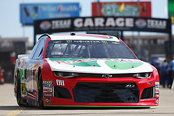 November 2, 2018 - Ft. Worth, Texas, United States of America - Landon Cassill (00) takes to the track to practice for the AAA Texas 500 at Texas Motor Speedway in Ft. Worth, Texas. (Credit Image: © Justin R. Noe Asp Inc/ASP via ZUMA Wire)