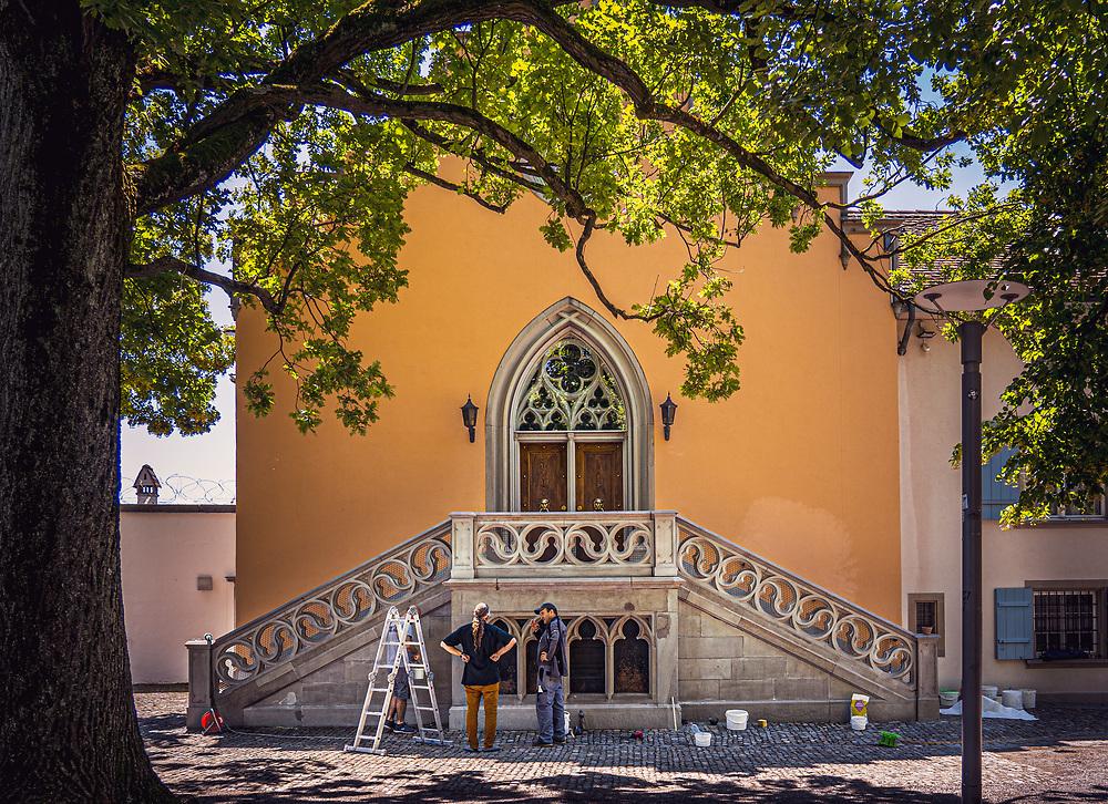 Renovating the Freemason lodge in Lindenhof Zürich