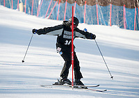 High School alpine ski race at Gunstock February 3, 2012.