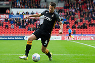 Bradford city defender Ryan McGowan during the EFL Sky Bet League 1 match between Doncaster Rovers and Bradford City at the Keepmoat Stadium, Doncaster, England on 22 September 2018.