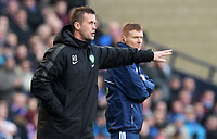 01/02/15 SCOTTISH LEAGUE CUP SEMI-FINAL<br /> CELTIC v RANGERS<br /> HAMPDEN - GLASGOW<br /> Celtic manager Ronny Deila