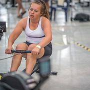 Danielle Pugh  FEMALE HEAVYWEIGHT Novice U19 1K Race #8  11:00am<br /> <br /> <br /> www.rowingcelebration.com Competing on Concept 2 ergometers at the 2018 NZ Indoor Rowing Championships. Avanti Drome, Cambridge,  Saturday 24 November 2018 © Copyright photo Steve McArthur / @RowingCelebration