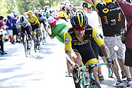 Primoz Roglic (SLO - Team LottoNL - Jumbo) during the 105th Tour de France 2018, Stage 14, Saint-Paul-trois-Chateaux - Mende (188 km) on July 21th, 2018 - Photo Pool Stephane Manthey / L'Equipe / BettiniPhoto / ProSportsImages / DPPI