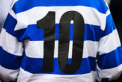 29 July 2017 -  Pre-Season Friendly - QPR v Bournemouth - A QPR shirt featuring the number 10 as worn by Stan Bowles - Photo: Marc Atkins / Offside.