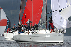 The Silvers Marine Scottish Series 2014, organised by the  Clyde Cruising Club,  celebrates it's 40th anniversary.<br /> FRA37296, Salamander XXI, John Corson, CCC, First 35<br /> Final day racing on Loch Fyne from 23rd-26th May 2014<br /> <br /> Credit : Marc Turner / PFM