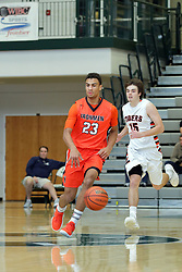 29 December 2017: State Farm Holiday Classic Coed Basketball Tournament at Normal Community High School in Normal IL<br /> <br /> SFHC - Large School Boys Wheaton Warrenville South Tigers v Normal Community Ironmen