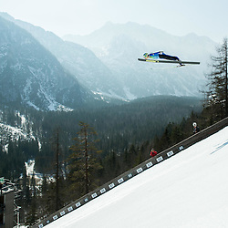 20150318: SLO, Ski Jumping - Test of renovated flying hill in Planica