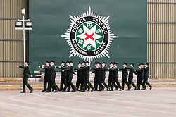 Police Officers at the Northern Ireland training college
