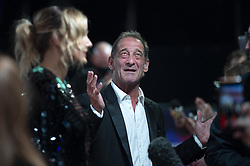 Julia Ducournau and Vincent Lindon attending the Titane Premiere as part of the 65th BFI London Film Festival at the Royal Festival Hall in London, England on October 09, 2021. Photo by Aurore Marechal/ABACAPRESS.COM