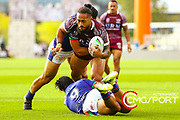 Manly 46 Warriors 12<br /> AMI Stadium, Christchurch<br /> Photo CRAIG MIDDLETON CMG SPORT ACTION IMAGES<br /> ©cmgsport2019