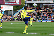 Romelu Lukaku of Everton in action.  Premier League match, Burnley v Everton at Turf Moor in Burnley , Lancs on Saturday 22nd October 2016.<br /> pic by Chris Stading, Andrew Orchard sports photography.