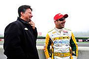 30 March - 1 April, 2012, Birmingham, Alabama USA.Michael Andretti, Tony Kanaan .(c)2012, Jamey Price.LAT Photo USA