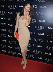 Emily Ratajkowski at the opening of Apex Social Club at Palms Casino Resort in Las Vegas, Nevada.