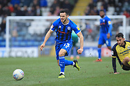 Jimmy Keohane during the EFL Sky Bet League 1 match between Rochdale and Scunthorpe United at Spotland, Rochdale, England on 23 March 2019.