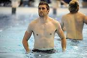 Richie Vernon - Scotland number 8<br /> Scotland rugby union team post match recovery session, Rugby World Cup, Southland Aquatic Centre, Invercargill, Southland, New Zealand, Sunday 10th September 2011<br /> PLEASE CREDIT ***FOTOSPORT/DAVID GIBSON***