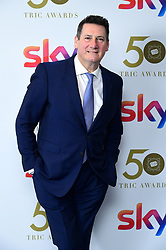 Tony Hadley attending the TRIC Awards 2019 50th Birthday Celebration held at the Grosvenor House Hotel, London.