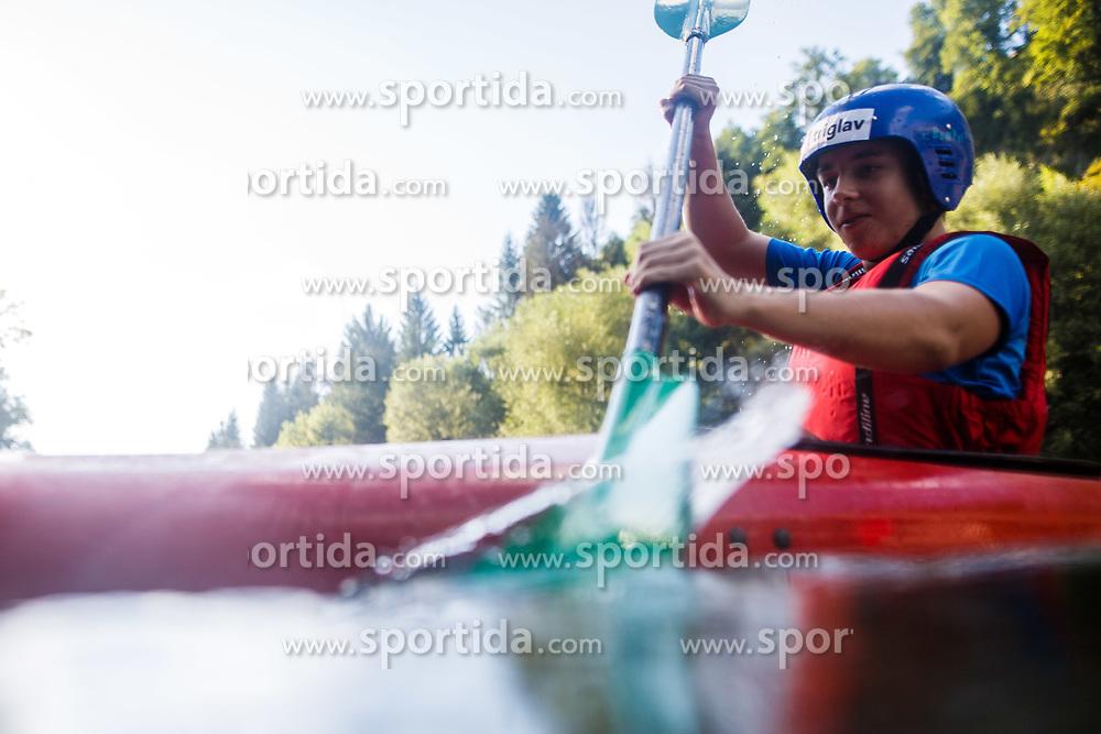 Portrait of disabled skier Jernej Slivnik, on August 15th, 2017, in Radovljica, Slovenia. Photo by Grega Valancic/ Sportida