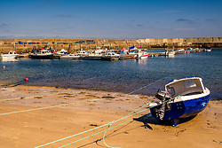 The harbour at the tiny fishing village of Balintore in Easter Ross, Scotland<br /> <br /> (c) Andrew Wilson   Edinburgh Elite media