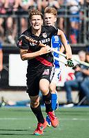 UTRECHT -  Roderic Schwirtz (A'dam)   tijdens   de finale van de play-offs om de landtitel tussen de heren van Kampong en Amsterdam (3-1). Kampong kampioen van Nederland. COPYRIGHT  KOEN SUYK