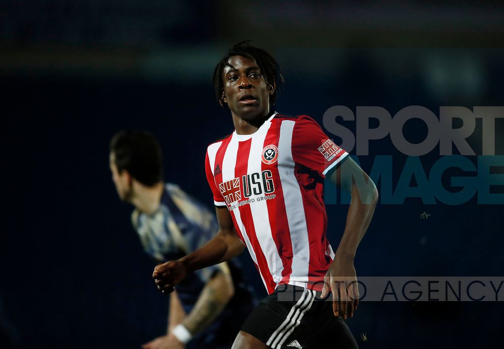 Sammy Ompreon of Sheffield Utd during the Professional Development League  match at the Proact Stadium, Chesterfield. Picture date: 3rd February 2020. Picture credit should read: Simon Bellis/Sportimage