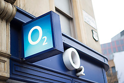 General view of an O2 mobile phone shop in Islington, London. O2 is currently the 9th most valuable British brand, according to analysts Brand Finance's directory. Picture date: Friday March 10, 2017. Photo credit should read: Matt Crossick/ EMPICS Entertainment.