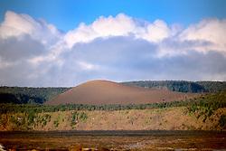 Pu`u Pua`i cinder cone, Hawaii, USA Volcanoes National Park, Big Island, Hawaii, USA