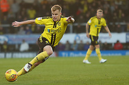 Burton Albion defender Damien McCrory (14) during the EFL Sky Bet League 1 match between Burton Albion and Coventry City at the Pirelli Stadium, Burton upon Trent, England on 17 November 2018.