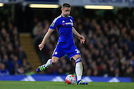 Gary Cahill of Chelsea in action. Barclays Premier league match, Chelsea v Tottenham Hotspur at Stamford Bridge in London on Monday 2nd May 2016.<br /> pic by Andrew Orchard, Andrew Orchard sports photography.