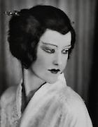 "Elizabeth Nelvi, opera singer & composer (Mrs. Craig Edmonston), in ""Madame Butterfly"", England, UK, 1916"