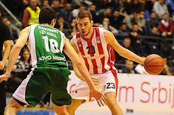 CRVENA ZVEZDA vs KRKA<br /> Beograd, 07.03.2016.<br /> foto: Nebojsa Parausic<br /> <br /> Kosarka,, Jadranska, ABA liga, Crvena zvezda, Krka  XYZ