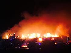 Weybridge Hospital Fire